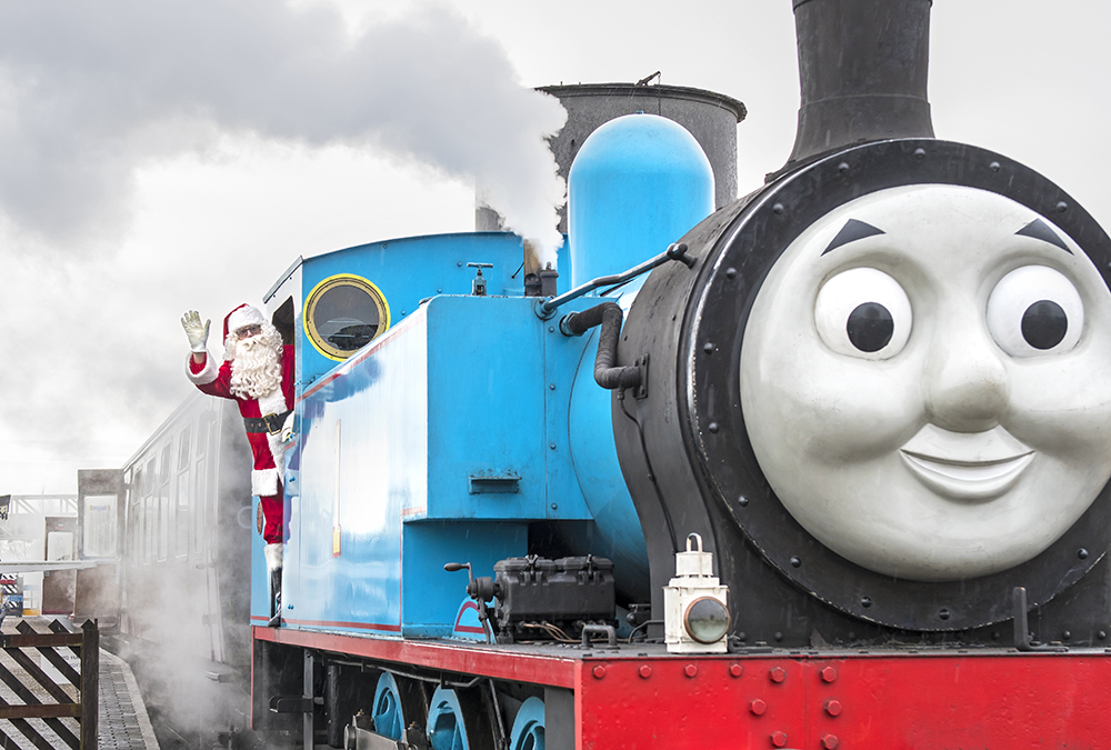 Father Christmas and Thomas