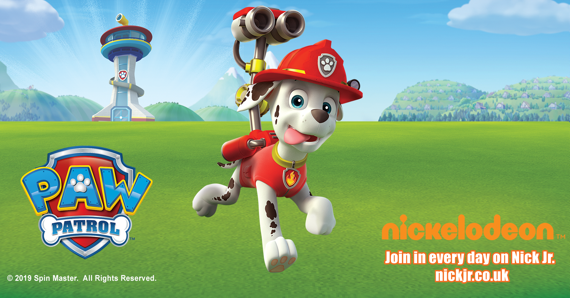 Fire Engines & Marshall from Paw Patrol